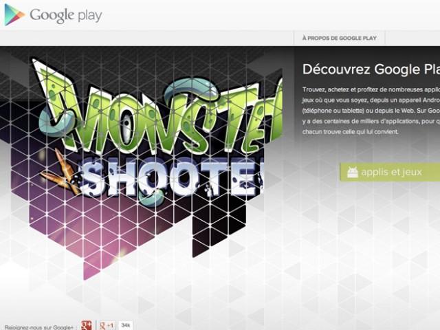 Play Nouveau : Google Play fait son entrée sur la barre de navigation de Google