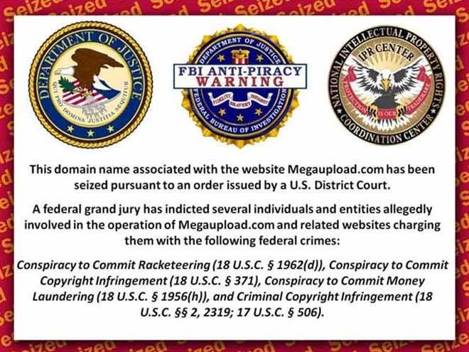 Megaupload : les fichiers risquent d'être supprimés