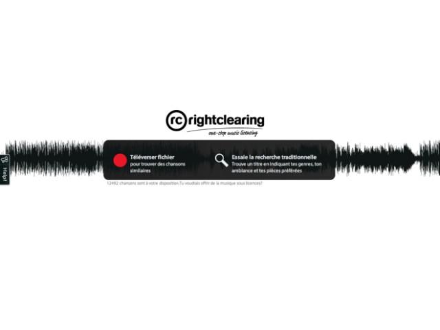 RightClearing, pour trouver de la musique pour vos projets de création