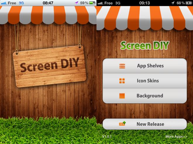 Personnaliser un iPhone non jailbreaké avec Screen DIY