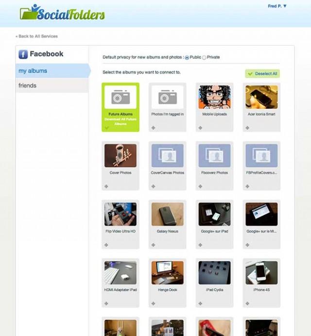 SocialFolders : synchroniser ses photos et ses documents avec les réseaux sociaux