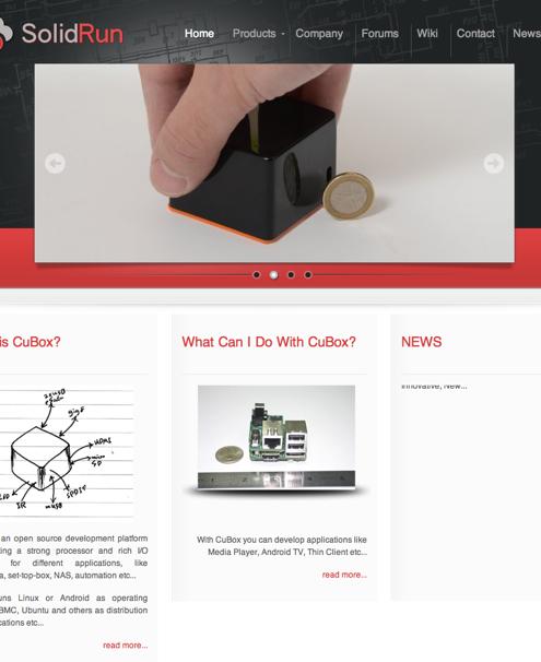 SolidRun CuBox, un autre Raspberry Pi / Cotton Candy