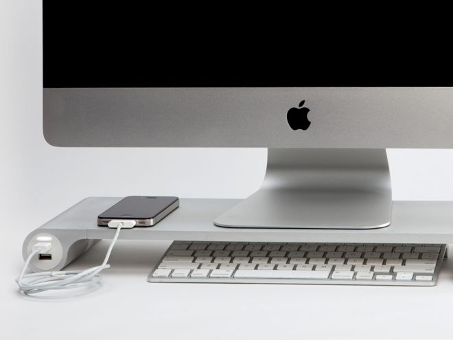 space bar un dock pour votre imac. Black Bedroom Furniture Sets. Home Design Ideas