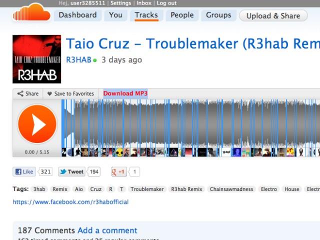 Télécharger la musique de SoundCloud avec un simple bookmarklet