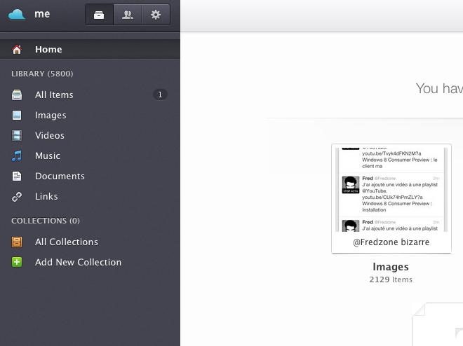 Jolicloud : tout le contenu partagé sur Twitter, Facebook, Instagram, Picasa, Flickr au même endroit
