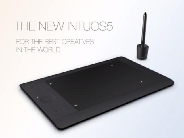 Wacom Intuos 5 : la nouvelle gamme de tablettes graphiques est arrivée