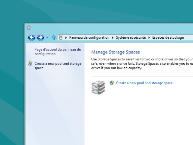 Windows 8 Consumer Preview : les pools et les espaces de stockage