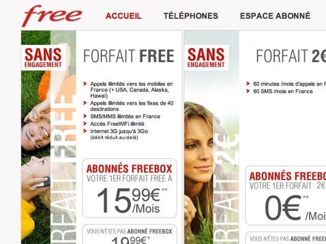 Free Mobile : bientôt 3 millions d'abonnés ?