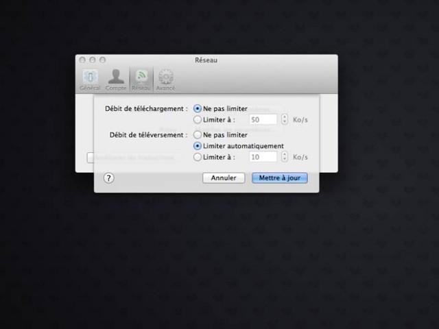 Accélérer la synchronisation de Dropbox