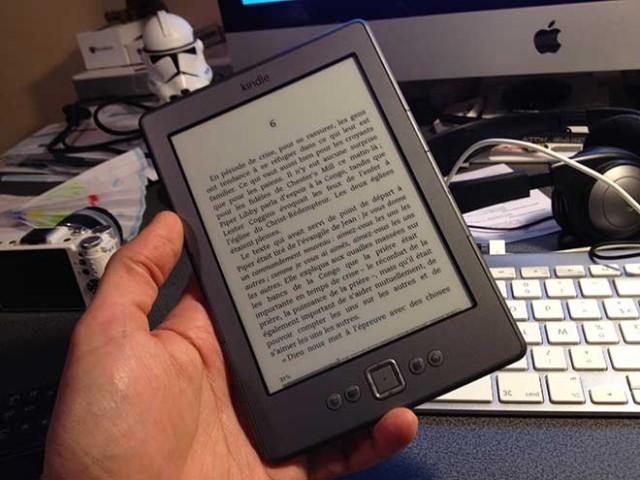 Bientôt un Kindle à écran e-ink avec rétro-éclairage LED ?