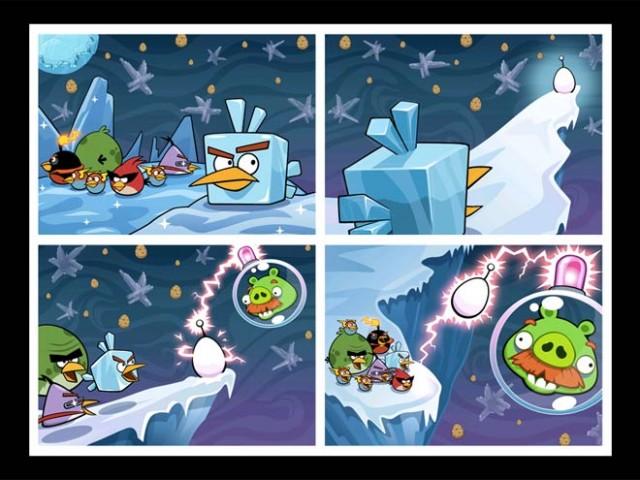 Angry Birds Space : 10 niveaux supplémentaires et des cadeaux !