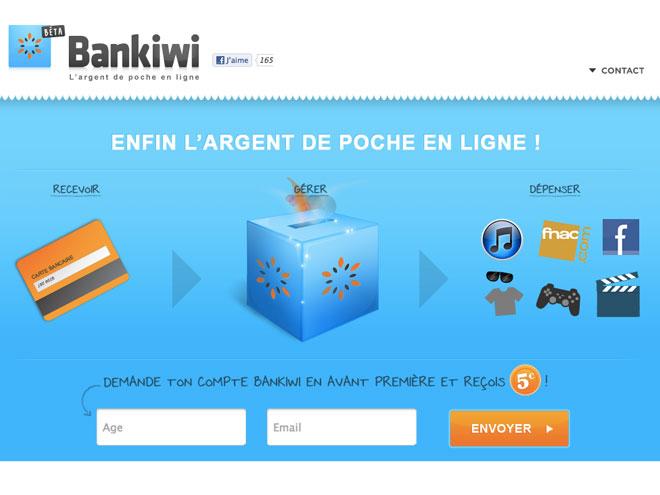 Bankiwi, une tirelire en ligne pour les adolescents