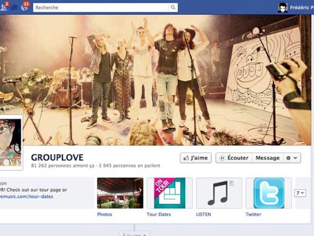 """Facebook : le bouton """"Ecouter"""" fait son entrée sur les pages des musiciens"""