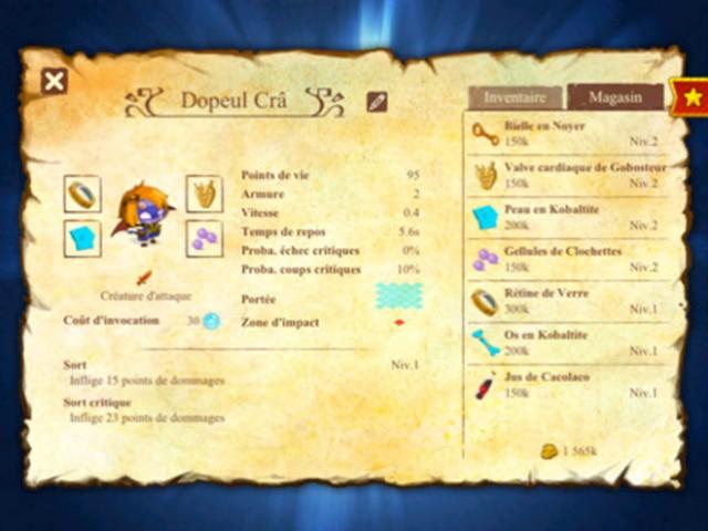 Dofus Battles 2 est disponible sur l'AppStore