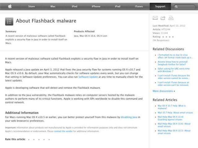 Flashback : Apple va (enfin) passer à l'action