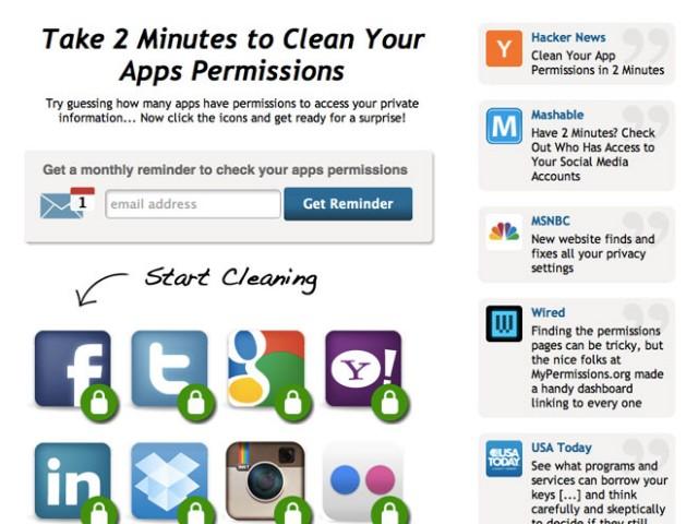Gérer facilement les permissions des applications tierces pour Twitter, Facebook et les autres