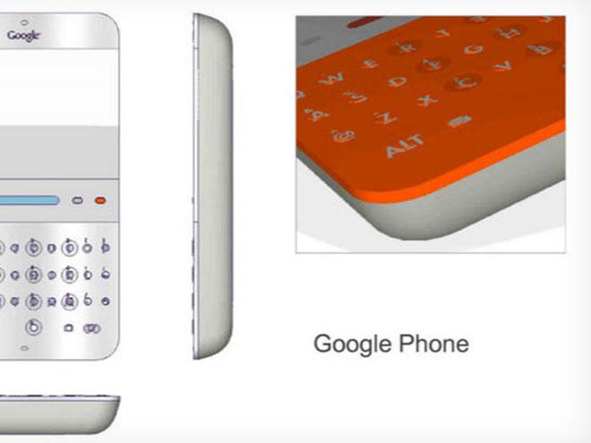 Google Android en 2006, c'était ça...
