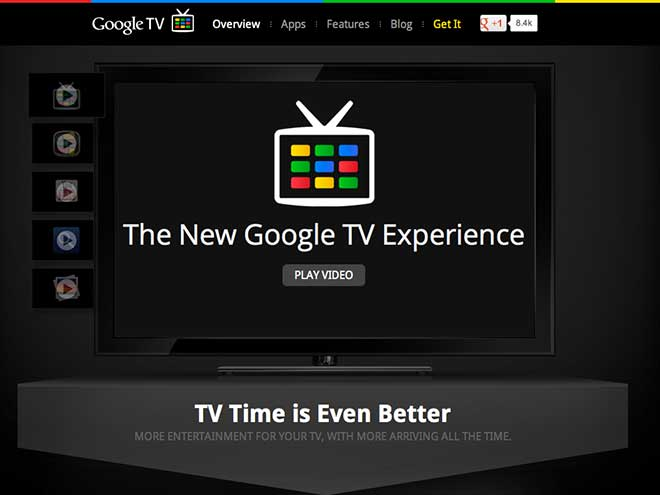 Google TV : lancement en France en septembre