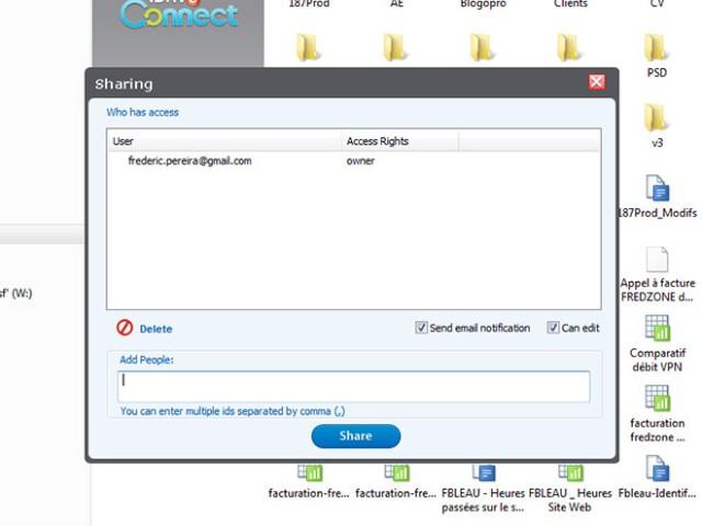 Gérer Google Docs en local avec iDrive Connect