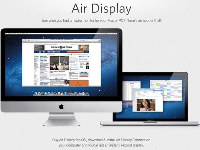 Utiliser l'iPad 3 comme second moniteur avec Air Display