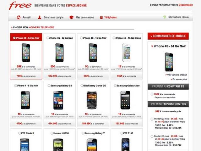 iPhone 4S Free Mobile : il est enfin arrivé !