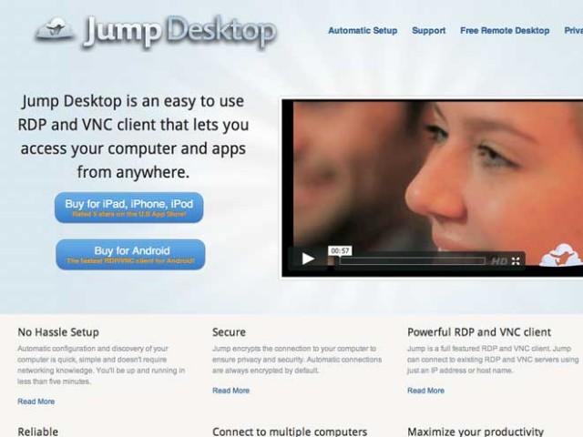 Jump Desktop : prendre le contrôle de son PC ou de son Mac avec son terminal Android