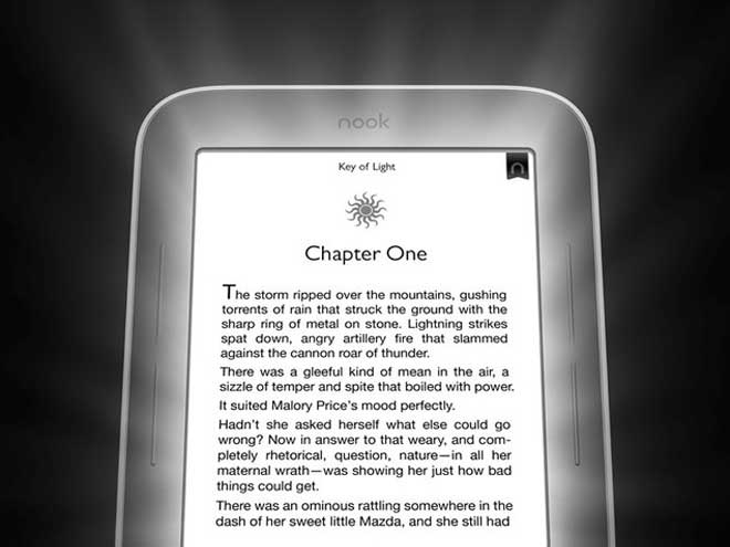 Nook Simple Touch GlowLight : un Nook rétro-éclairé