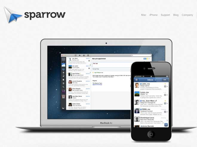 Sparrow iOS / Mac : ce qui nous attend dans les prochaines versions