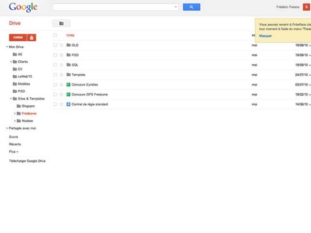 Google Drive est arrivé !