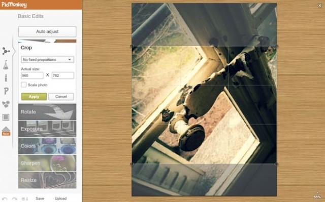 PicMonkey, la retouche photo facile dans le navigateur