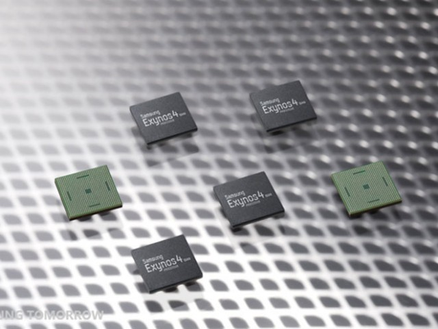 Samsung présente le processeur Exynos 4 Quad, le processeur du Galaxy S3