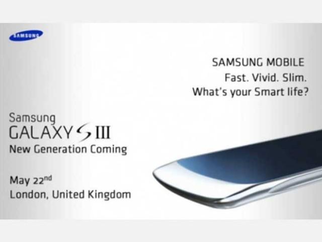 Samsung Galaxy S3 : lancement le 22 avril ?
