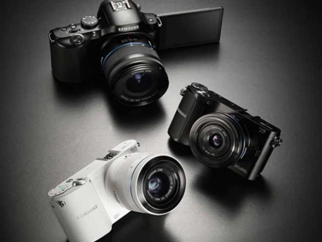 Samsung : NX1000, NX210, NX20, trois nouveaux hybrides