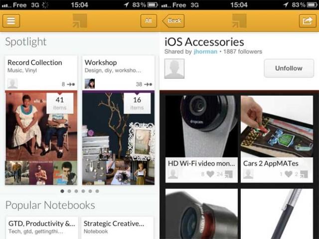 Springpad iPhone : une troisième version prometteuse