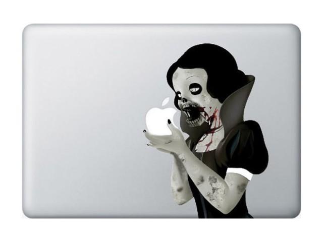 Sticker MacBook Zombie