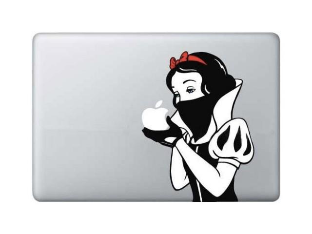 Sticker MacBook Blanche Neige
