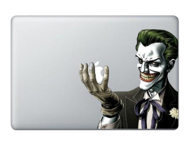 Sticker MacBook Jocker