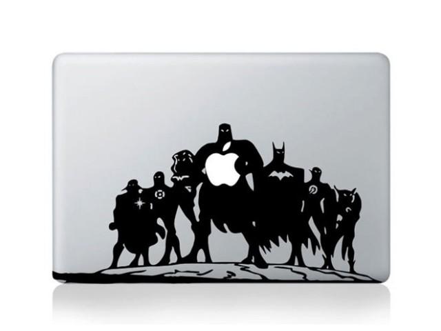 Sticker MacBook Super Héros