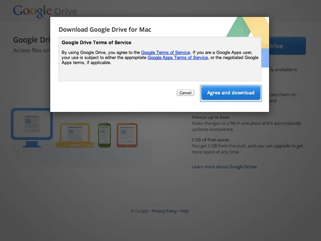 Synchroniser un dossier local avec Google Drive