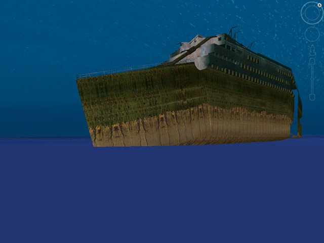 Le Titanic en 3D dans Google Earth