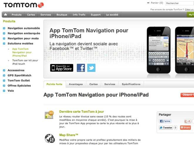 TomTom iOS : une grosse mise à jour avec du social dedans