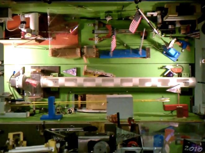 Vidéo : la machine Rube Goldberg la plus complexe au monde