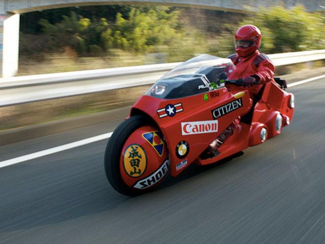La moto de Akira existe enfin !