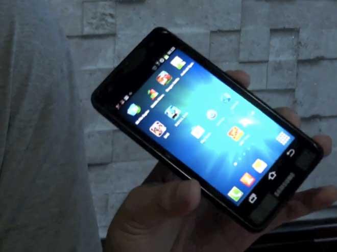 Une vidéo du Samsung Galaxy S3 ?