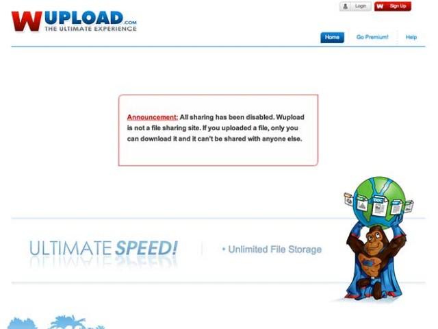 FileServe et Wupload limitent leur service de stockage de fichiers