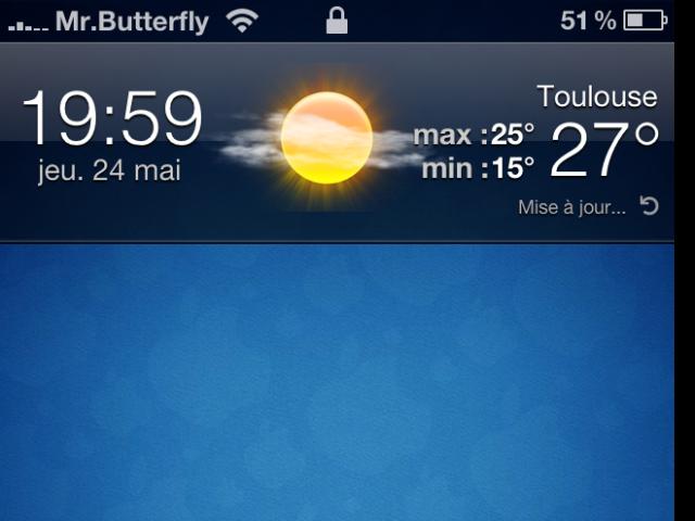 Forecast – Accueil
