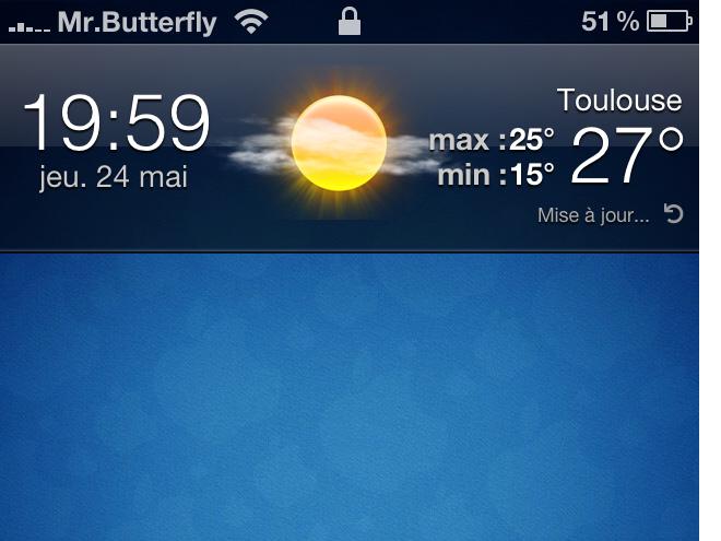 Forecast - Accueil