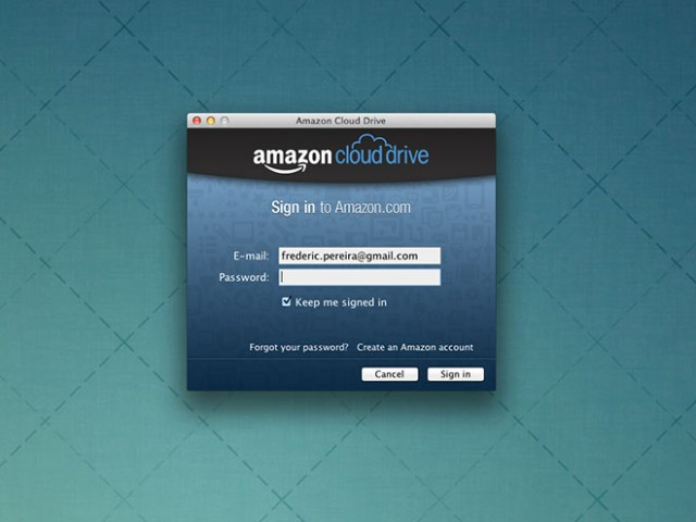 Amazon Cloud Drive : un client pour Windows et Mac OS