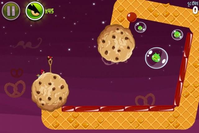 Utopia : 10 nouveaux niveaux pour Angry Birds Space