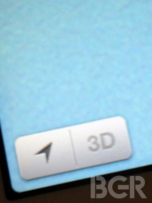 iOS 6 : quelques captures de iMaps
